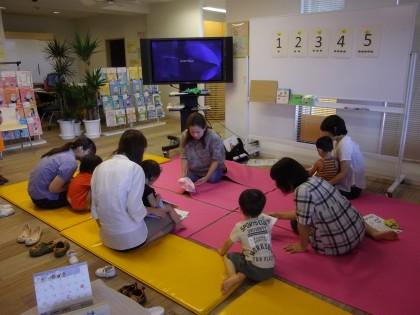 保険サロン名古屋黒川店 えいごあそびセミナー(9/10)