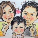 保険サロン名古屋植田店似顔絵フェア開催中!!!