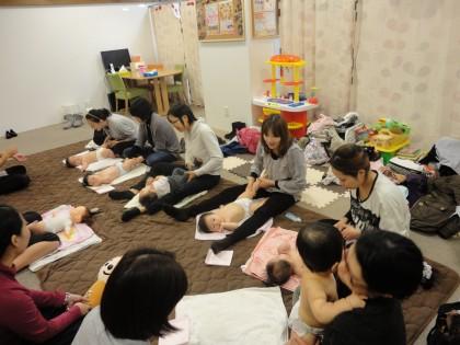 ♥♡♥保険サロン刈谷店 ベビーマッサージ&エクササイズ♥♡♥