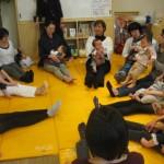 保険サロン名古屋植田店ママヨガ&ベビータッチ開催しました。