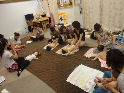 ☆☆ベビーマッサージ&ママエクササイズセミナー開催しました 保険サロン刈谷店☆☆