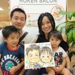 ♪♪ 8月24日(土)似顔絵イベント開催いたしました! 保険サロン刈谷店 ♪♪