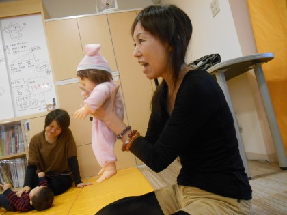 保険サロン名古屋植田店 「ママヨガ&ベビータッチ」セミナー開催しました♪