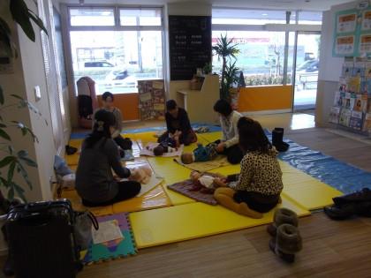 保険サロン 名古屋黒川店 ☆「オイルベビーマッサージ」セミナーを開催しました☆
