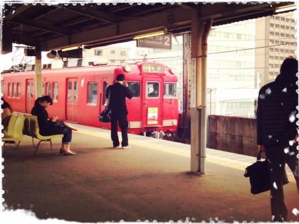 保険サロン名古屋守山店 「せとでん、さよなら赤い電車~!」