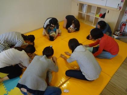 初!ママヨガ&ベビータッチセミナー開催★保険サロン名古屋吹上店