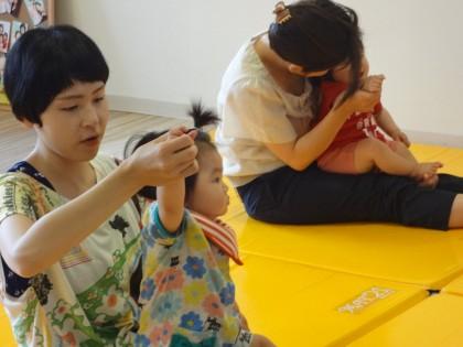 ママヨガ&ベビータッチセミナー開催✿保険サロン名古屋吹上店