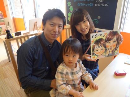似顔絵フェア開催しました☆★☆保険サロン 名古屋吹上店