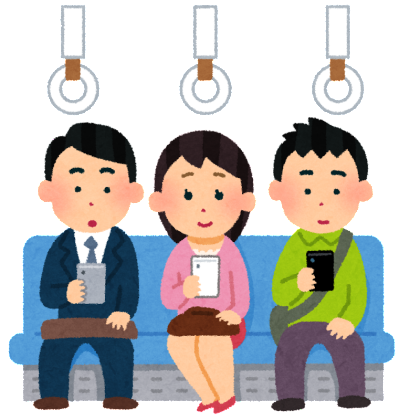 ◇◆電車内での携帯マナーが変わってきています◆◇