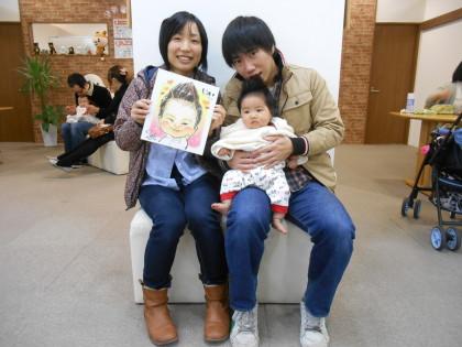 2月20日(土) 似顔絵イベント 保険サロン 刈谷店