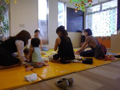 ☆★オイルベビーマッサージセミナー開催しました★☆保険サロン名古屋黒川店